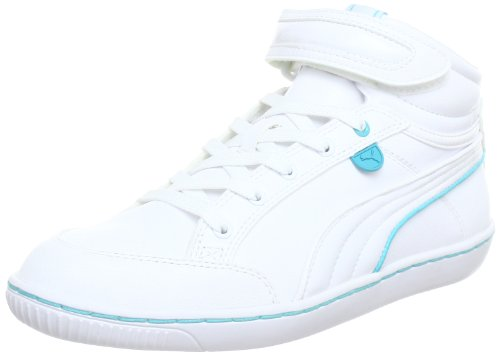 Puma Avila Mid Wn's High Top Womens White Weià (white-blue curacao 07) Size: 6 (39 EU)