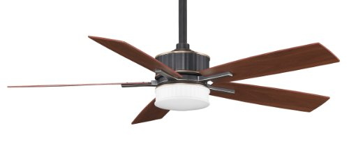 Fanimation Fpd8087Ba 60-Inch Landan 5-Blade Ceiling Fan, Bronze Accent