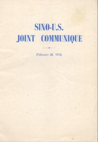 Sino-U.S. Joint Communique PDF