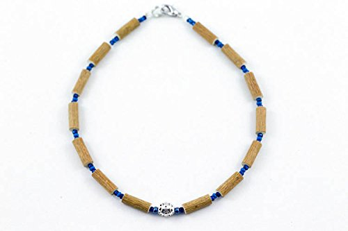 Healing Hazel Hazelwood Baby Necklace Boy Pendant, Metallic Pendant/Navy Blue/Blue
