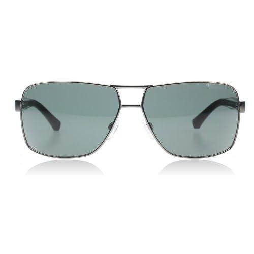 Emporio Armani 2001 300371 Gunmetal 2001 Square Aviator Sunglasses Lens Categor