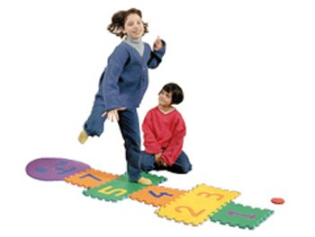 Picture of ERC Quality Hopscotch 6 X 2 Foam By Edushape (B004Y7XZZC) (Puzzle Play Mats)