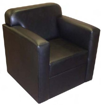 padded arms reception chair model w 300 w 300 industrial scientific