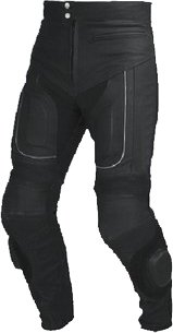 Vector Race Leather CE Armoured Motorcycle Trousers 1.4MM Full & Part Zips 30
