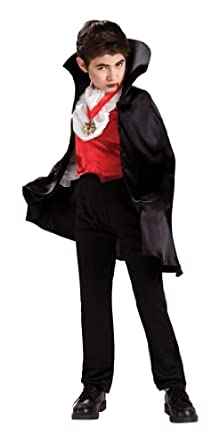 Transylvanian Vampire Costume With Short Cape Costume