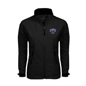 Central Arkansas Ladies Black Softshell Jacket