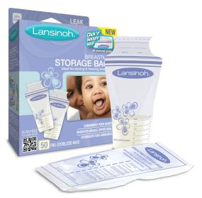 Lansinoh Breast Milk Storage Bags, 50 Count - Walmart.com