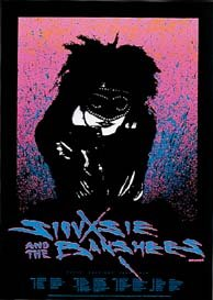 Siouxsie & Banshees Limited Edition Silkscreen Music-Poster di Topolino numerato, motivo: Original Siouxsie & Banshees