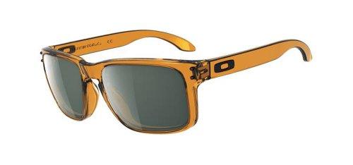 Oakley Holbrook Men's Designer Sunglasses - Matte Black/Warm