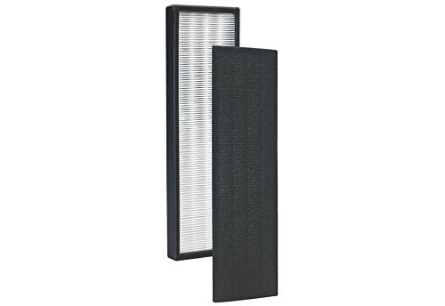 GermGuardian FLT4825 Compatible HEPA Replacement Filter B Kit for AC4300/AC4800/4900 Series Air Purifiers By Aqua Green