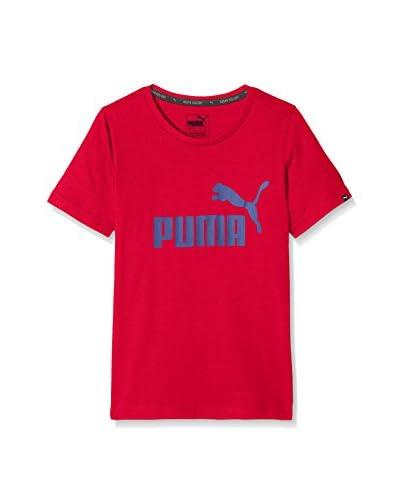 Puma Camiseta Manga Corta ESS No.1 Tee Azul