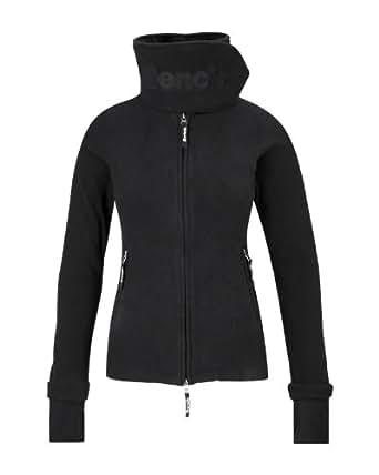 Bench, FUNNEL NECK, Veste en laine polaire femme, Noir, XS