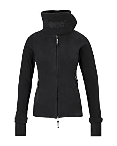 Bench Damen Sweatjacke Funnel Neck - E, black, XS, BLEA0021E_BK001