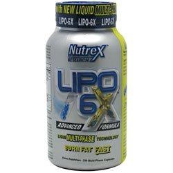 Nutrex Lipo-6X Multi-Phase (Dmaa Free) (240 Ct.)