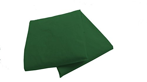Baby Doll 2 Piece Solid Crib Sheet Set, Green - 1