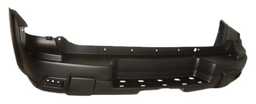 OE Replacement Chevrolet Trailblazer Rear Bumper Cover (Partslink Number GM1100627) (Rear Bumper 2003 Trailblazer compare prices)