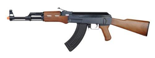jing gong jg6803 ak-47 electric airsoft gun full auto metal gear fps-400, full metal gearbox, high capacity magazine(Airsoft Gun) (Ak 47 Airsoft Gun Electric compare prices)