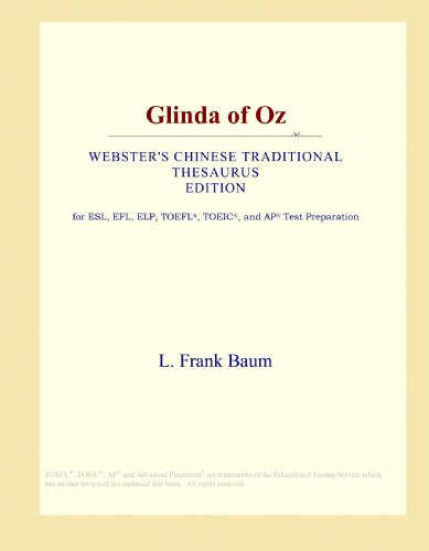 Glinda of Oz (Webster's Chinese Traditional Thesaurus Edition)