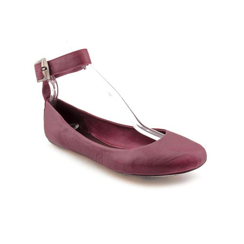 7 For All Mankind Beetle Womens Size 8 Purple Nappa Leather Ballet Flats Shoes