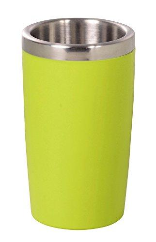 パール金属 ブラッセリー ダブルウォール ワイン クーラー 1.3L グリーン HB-727