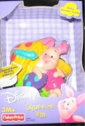 Winnie the Pooh Piglet Squeeze 'em Fisher-Price