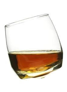 Sagaform Rocking Whiskey Glasses, 6 3/4-Ounces, Set of 6