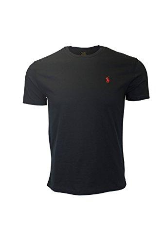 Maglietta Ralph Lauren Classic-Fit - RL Black (Large)