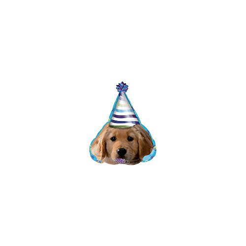"Anagram International Party Pups Birthday Balloon, 18"", Multicolor"