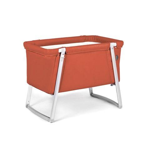 clay – DREAM multifunktionales Babybett von BABYHOME – Babybett + Stubenwagen + Wiege + Reisebett in einem, inkl. Matratze, Matratzenauflage, Schlafsack und Transporttasche