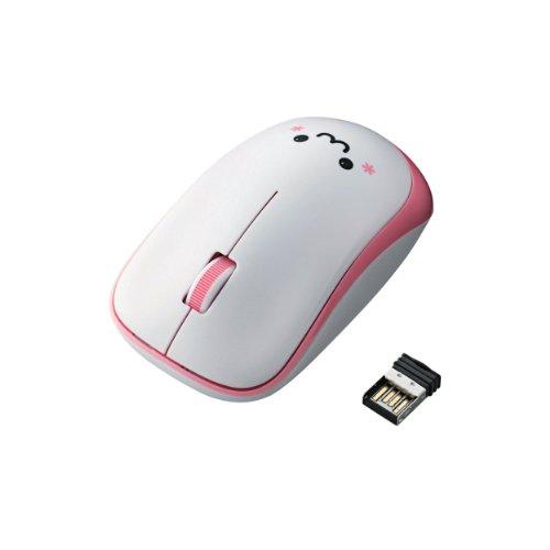 ELECOM ワイヤレスマウス IRLED 3ボタン 省電力 【ドラゴンクエストX 眠れる勇者と導きの盟友オンライン推奨】 ピンク M-IR06DRPN