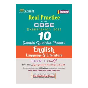 CBSE 10 Sample Papers for English Language and Literature Term-1 Class 9th