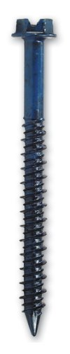 Simpson Strong Tie TTN18214H 3/16-Inch by 2-1/4-Inch Titen Concrete and Masonry Screw with 5/32-Inch Hex Head, Blue