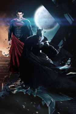ポスター アクリルフォトスタンド入り A4 パターンA バットマン V スーパーマン ダウン・オブ・ジャスティス (原題) 光沢プリント