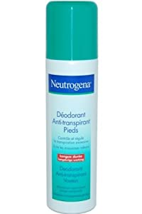 Neutrogena Foot Spray Deodorant Anti-Perspirant Foot Spray 150ml