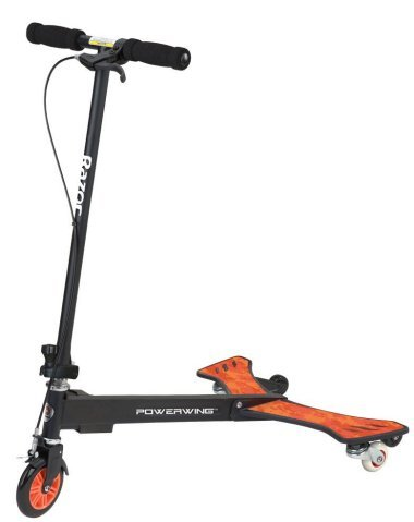 Razor PowerWing Caster Scooter (Black)