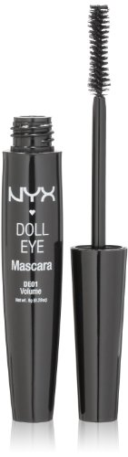 NYX Cosmetics Doll Eye Mascara Black Long Lash