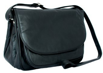 Visconti Leather Handbag Style 2195 Black
