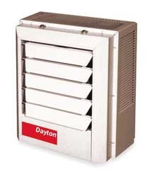 Dayton 2Yu67 Heater, Electric, 7.5 Kw