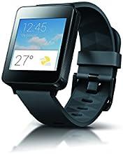 LG G Watch W100 Montre connectée pour Smartphone Android Noir