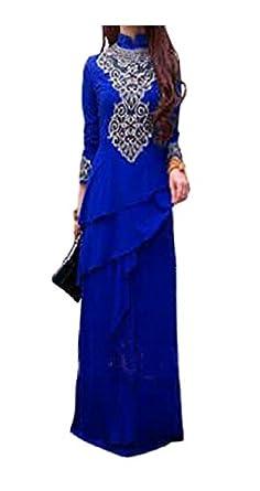 Amazon.com: Kaftan Maxi Dress Evening Gowns Evening Dresses Wedding