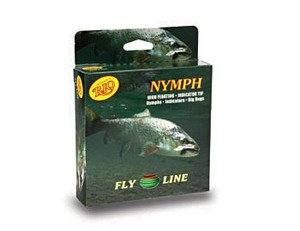 Rio Brands Rio: Nymph Weight Forward Fly Line, WF6F, Lt. Green