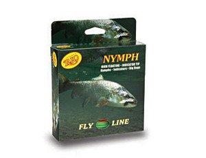 Rio Brands Rio: Nymph Weight Forward Fly Line, WF6F, Lt. Green