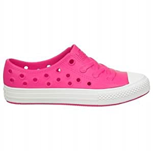 CONVERSE Kids' All Star Rockaway Ox Pre/Grade School (Pink/White 13.0 M)