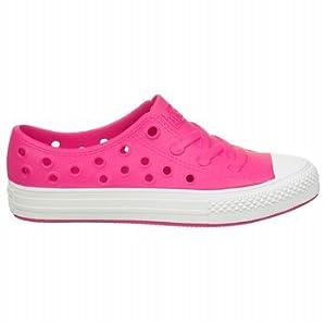CONVERSE Kids' All Star Rockaway Ox Pre/Grade School (Pink/White 13.0 M)