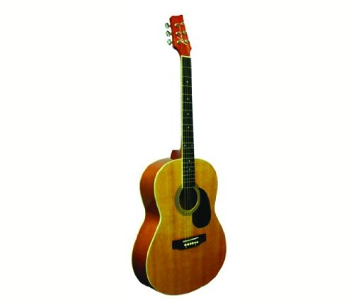 Kona Guitars Parlor Series K391 39-Inch Acoustic Guitar, Natural