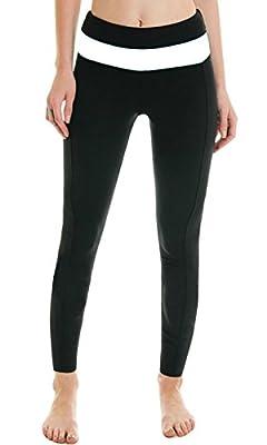 iLoveSIA Women's Capri Tights Yoga Running Workout Leggings Pants