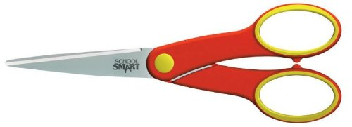School Smart Student Pointed Scissors - 6 inches