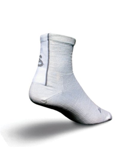 Buy Low Price Sock Guy 3″ Elite-Tech Socks White (B0025ZPZC6)