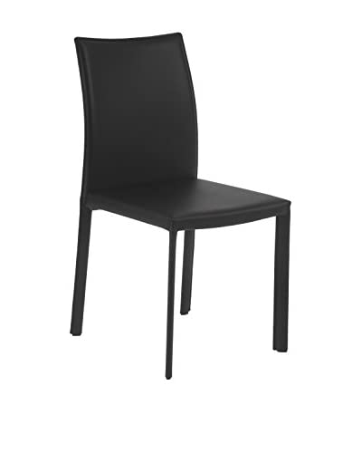 Eurostyle Molly Side Chair, Black