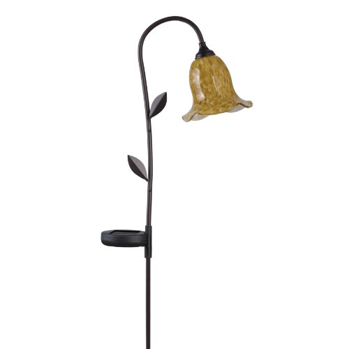 Westinghouse Morning Glory Solar Deco Light - Brown, 1 Piece, 268301-78Bnr